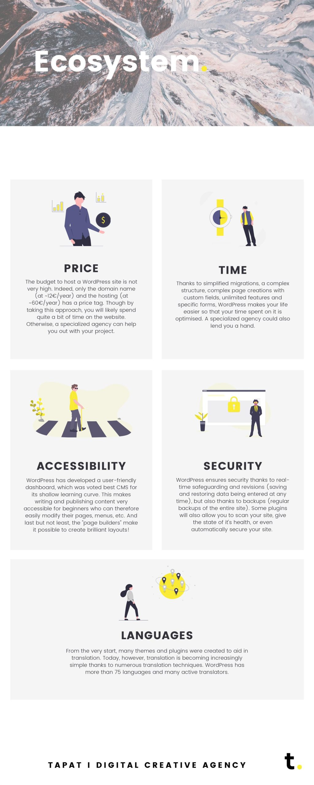 Wordpress infographic 03 ecosystem - tapat creative agency
