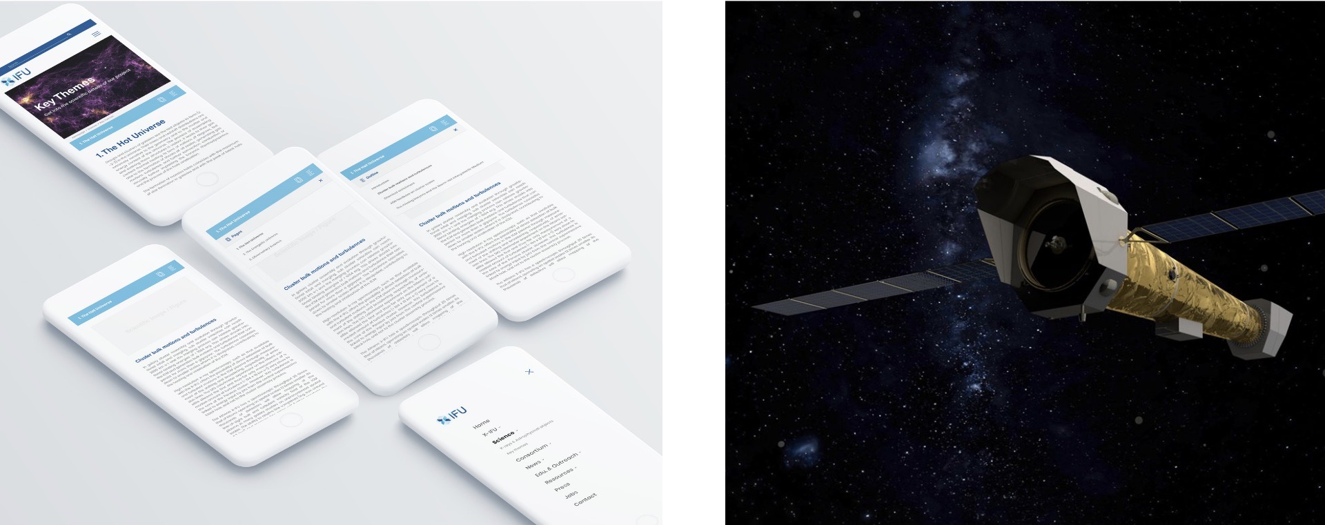 Client IRAP CNRS Athena X-IFU Tapat application mobile