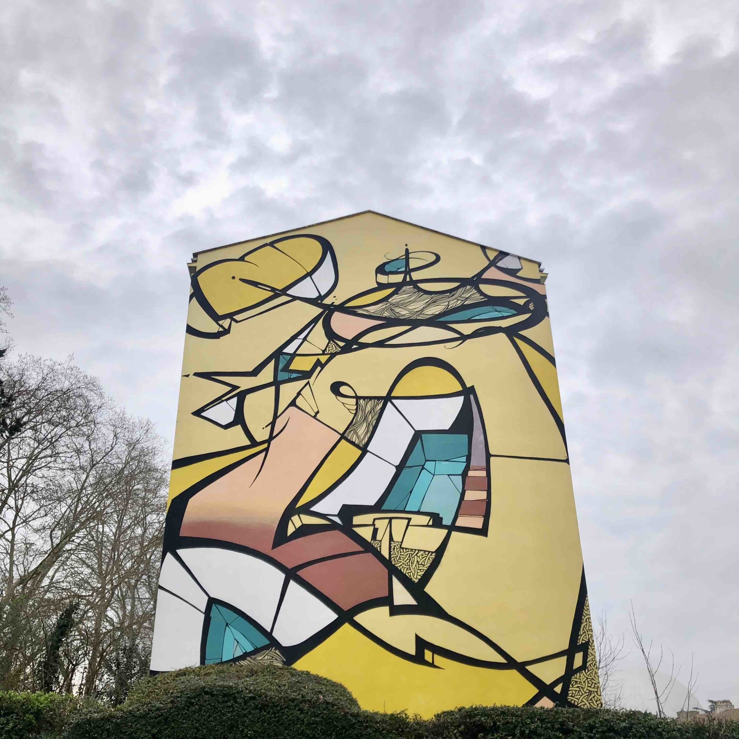 tag 11 rue Paul Eluard - Toulouse